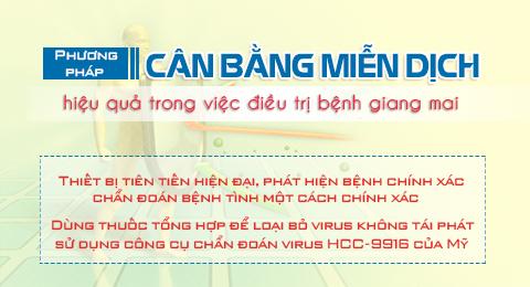 Phuong phap dieu tri benh giang mai