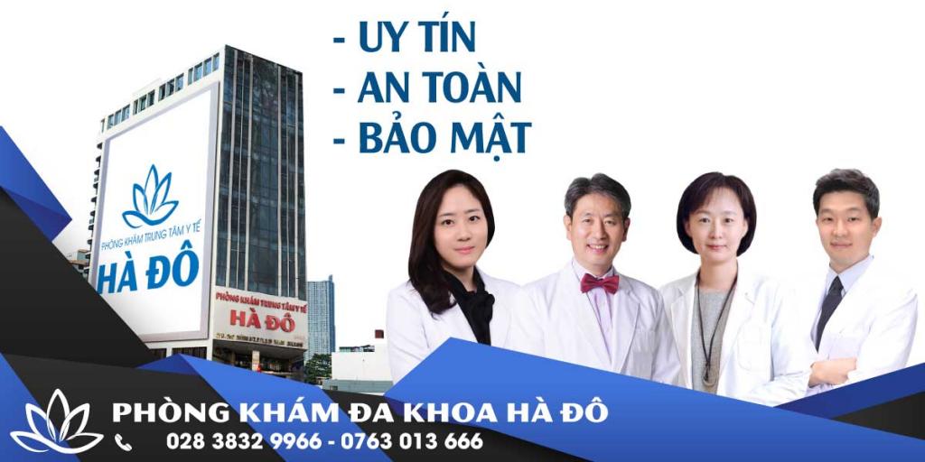 Phong kham Da khoa Ha Do dia chi dieu tri lau hang dau