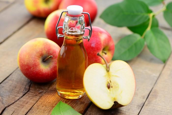 chữa bệnh sùi mào gà hiệu quả tại nhà bằng giấm táo